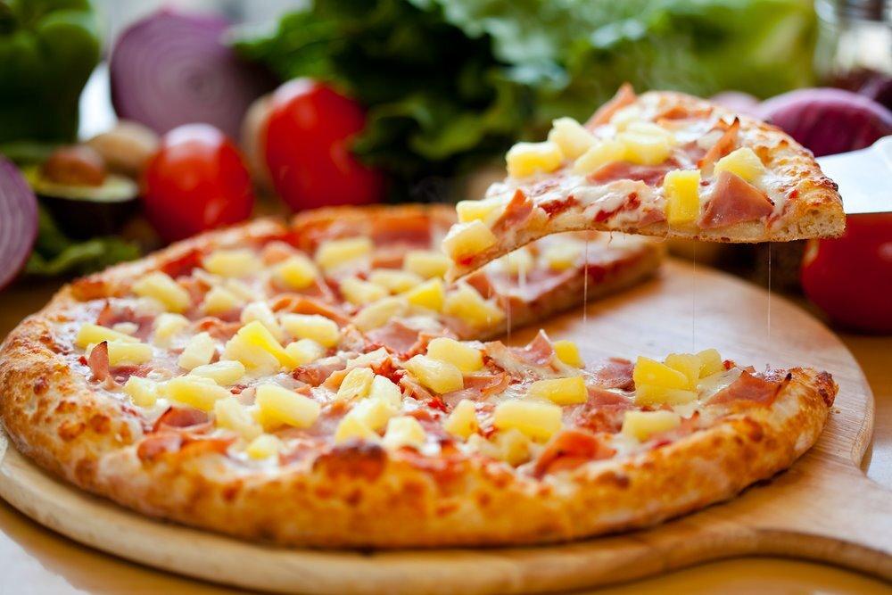 O co chodzi z pizzą hawajską? Kontrowersyjne połączenie smaków. Volume: 350